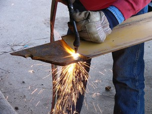 torch cutting