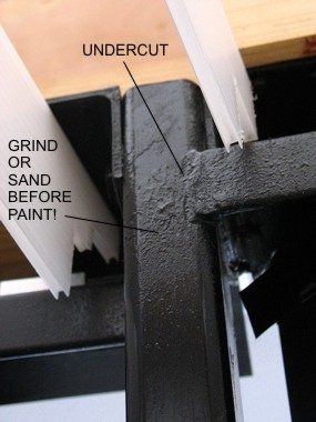 undercut weld
